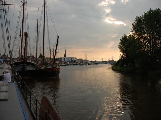 MGV Abendstern - Der Hafen in Almere /Holland / Ijsselmeer